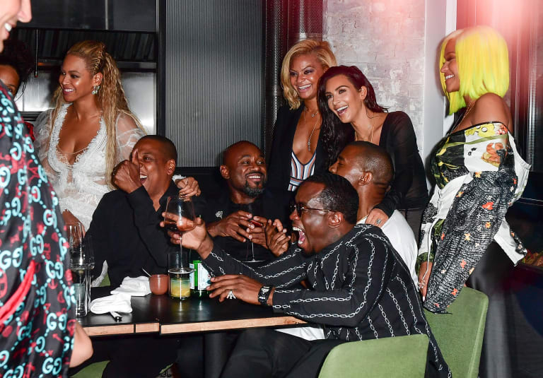 Beyoncé and Kanye West Held the Ultimate Post-VMA Power Dinner at This NYC Pizza Spot | First We Feast