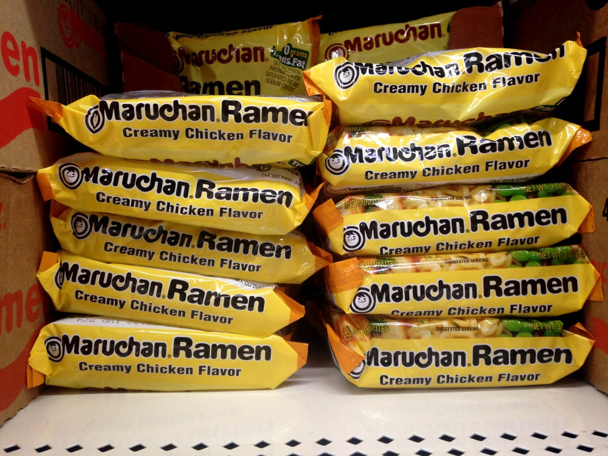 ramen noodles are replacing cigarettes as the primary