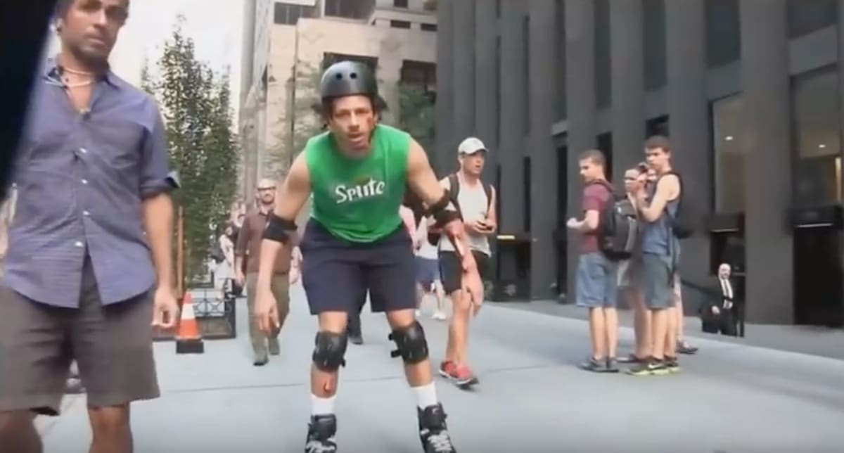 Watch Eric Andre Nearly Kill Himself to Get a Sprite ...