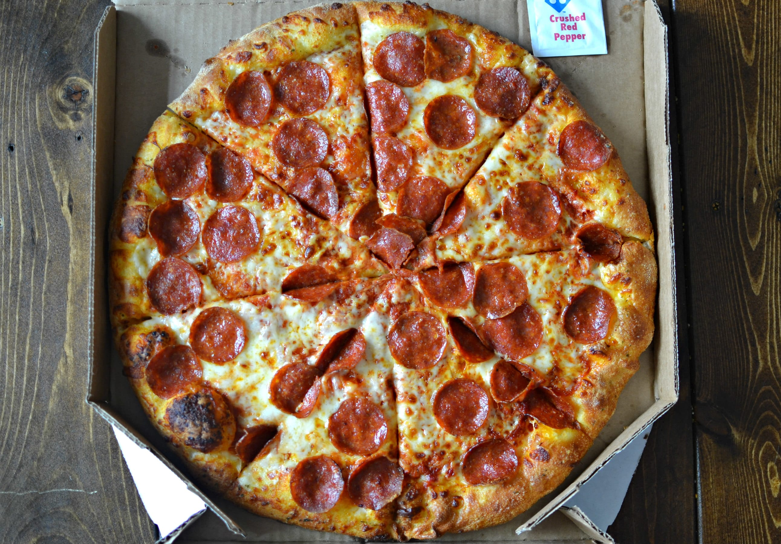 Pizza Hut Large Pizza Size >> Domino's Vs. Pizza Hut: Crowning the Fast-Food Pizza King | First We Feast
