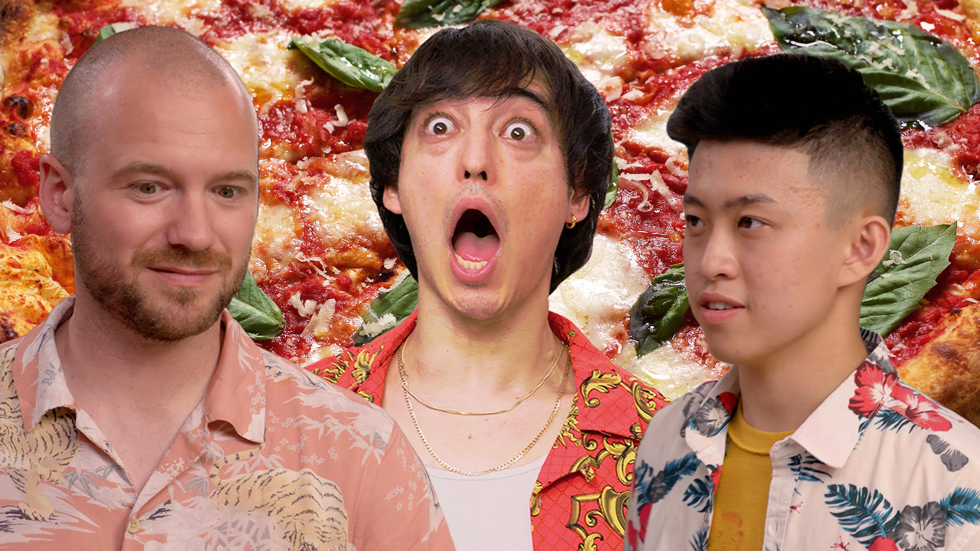 Watch Joji and Rich Brian Make Pizza and Hot Sauce with Sean Evans