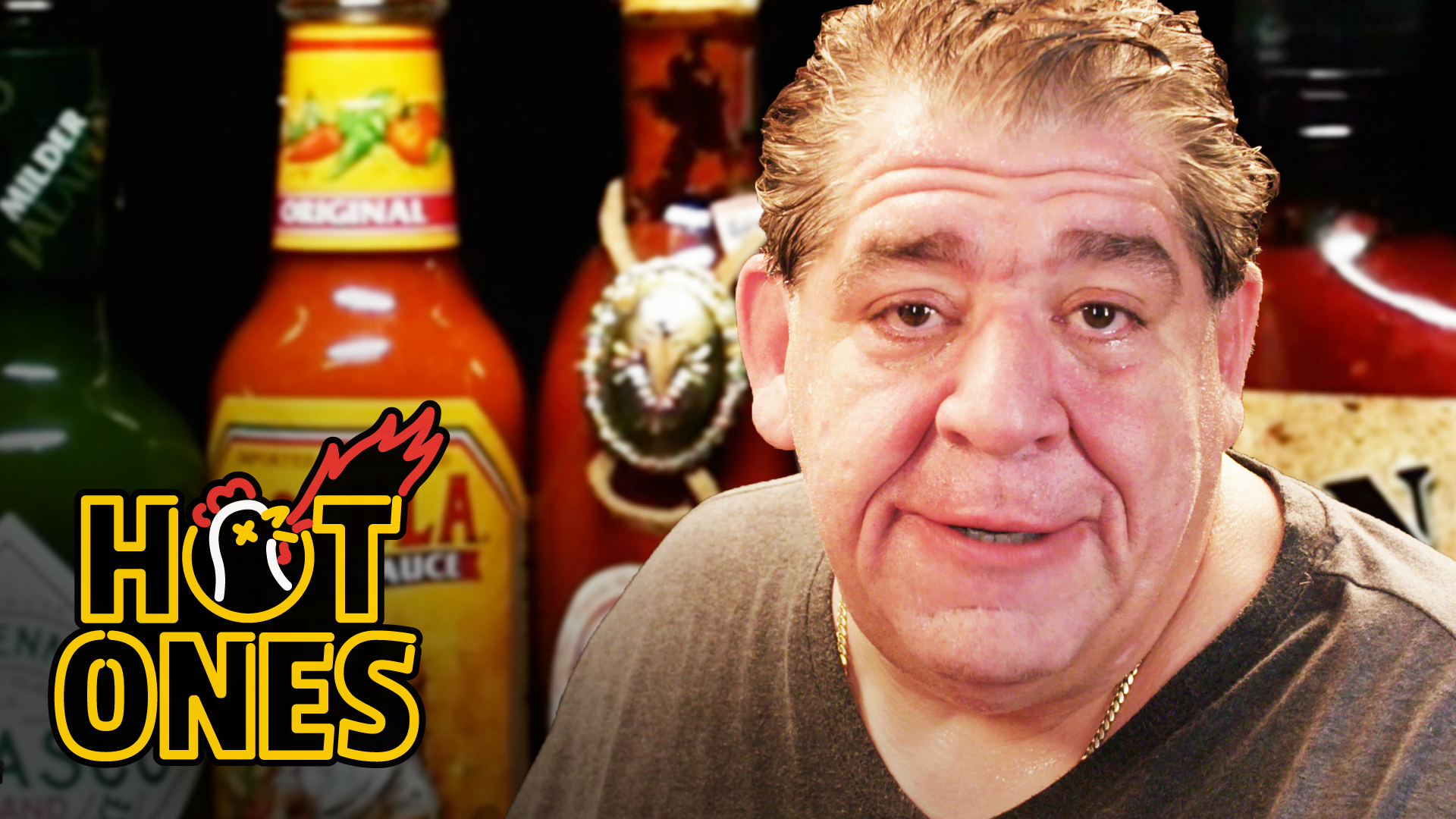"""Watch Joey """"CoCo"""" Diaz Take on the Hot Ones Challenge"""