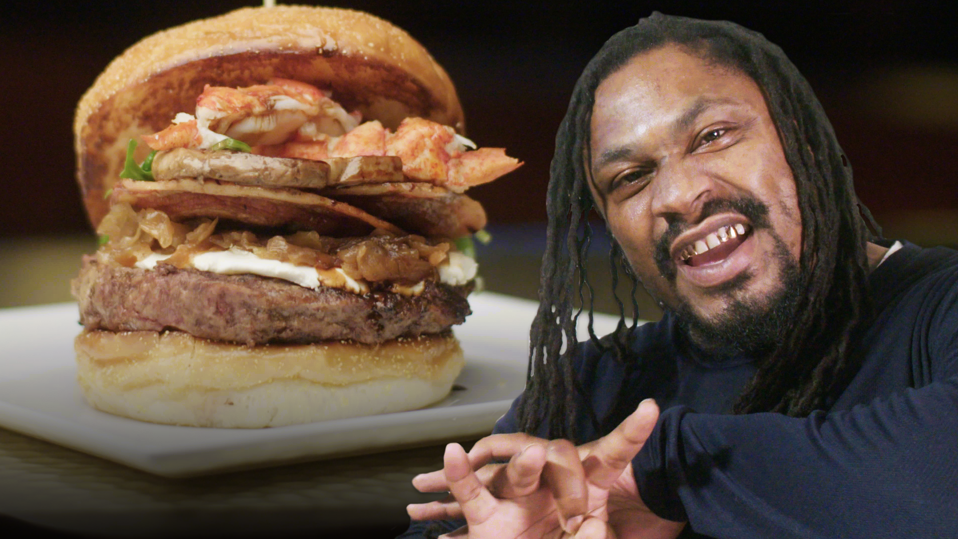 Marshawn Lynch Goes Beast Mode on a $1200 Burger