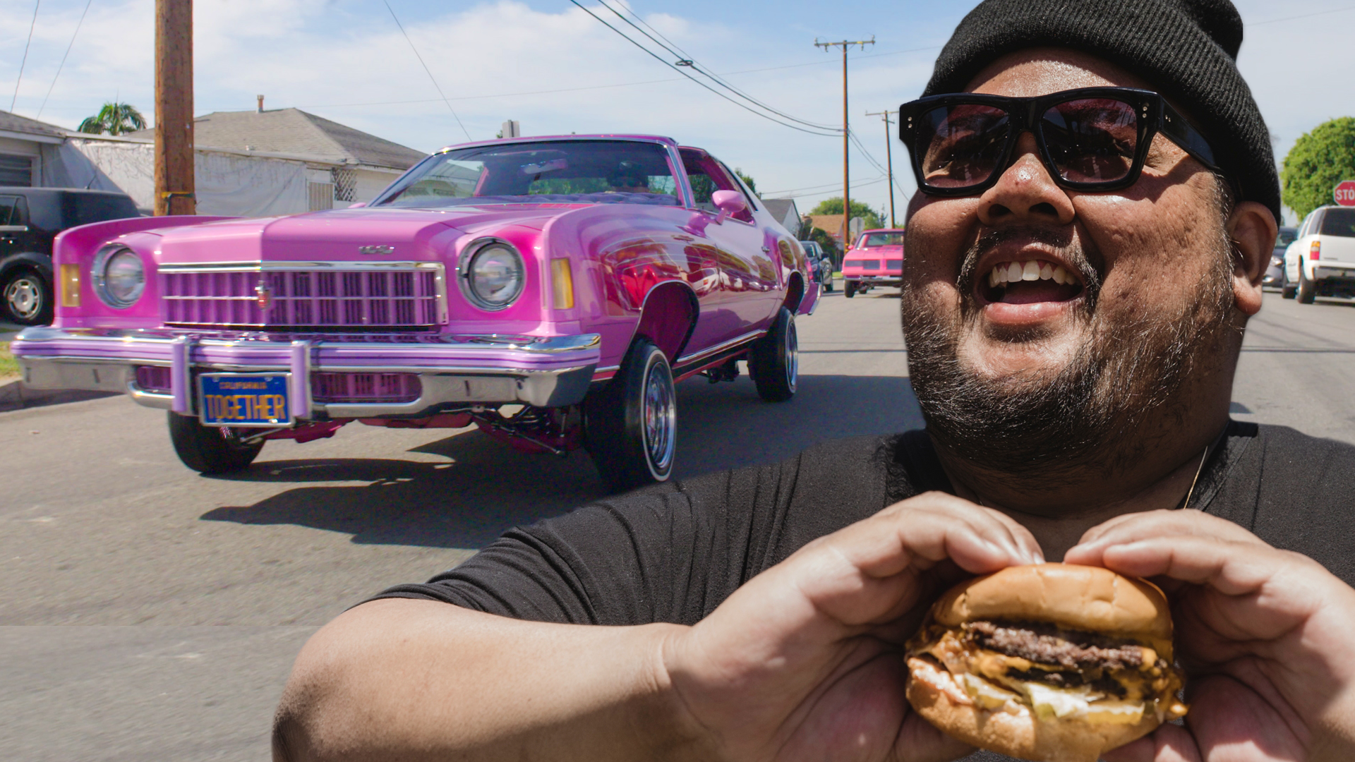 Why Lowriders And Backyard Burgers Define East LA First We Feast - Lowrider car show los angeles 2018