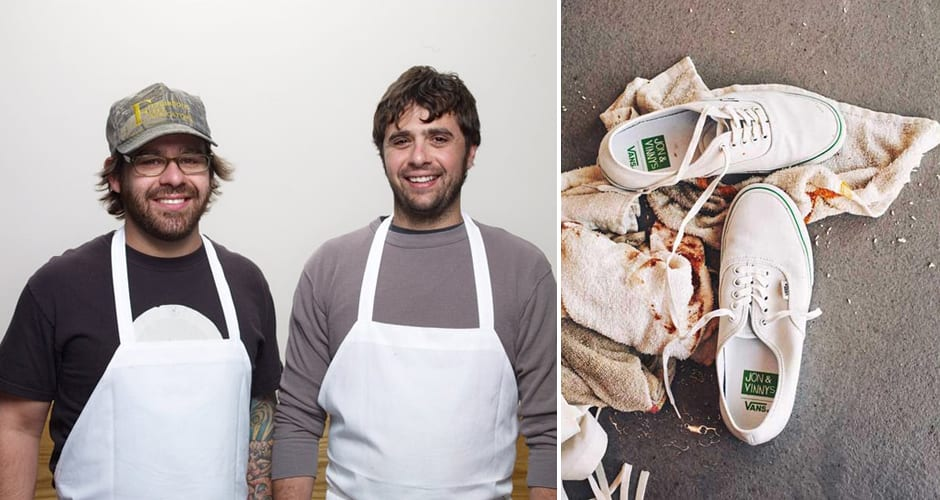 vans collaborates with jon shook and vinny dotolo on kitchen shoe