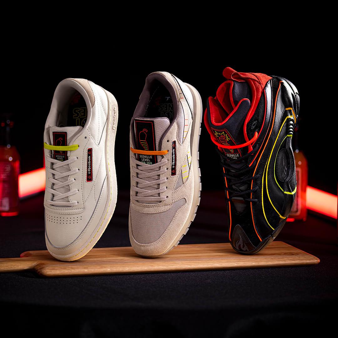 Hot Ones x Reebok Sneakers
