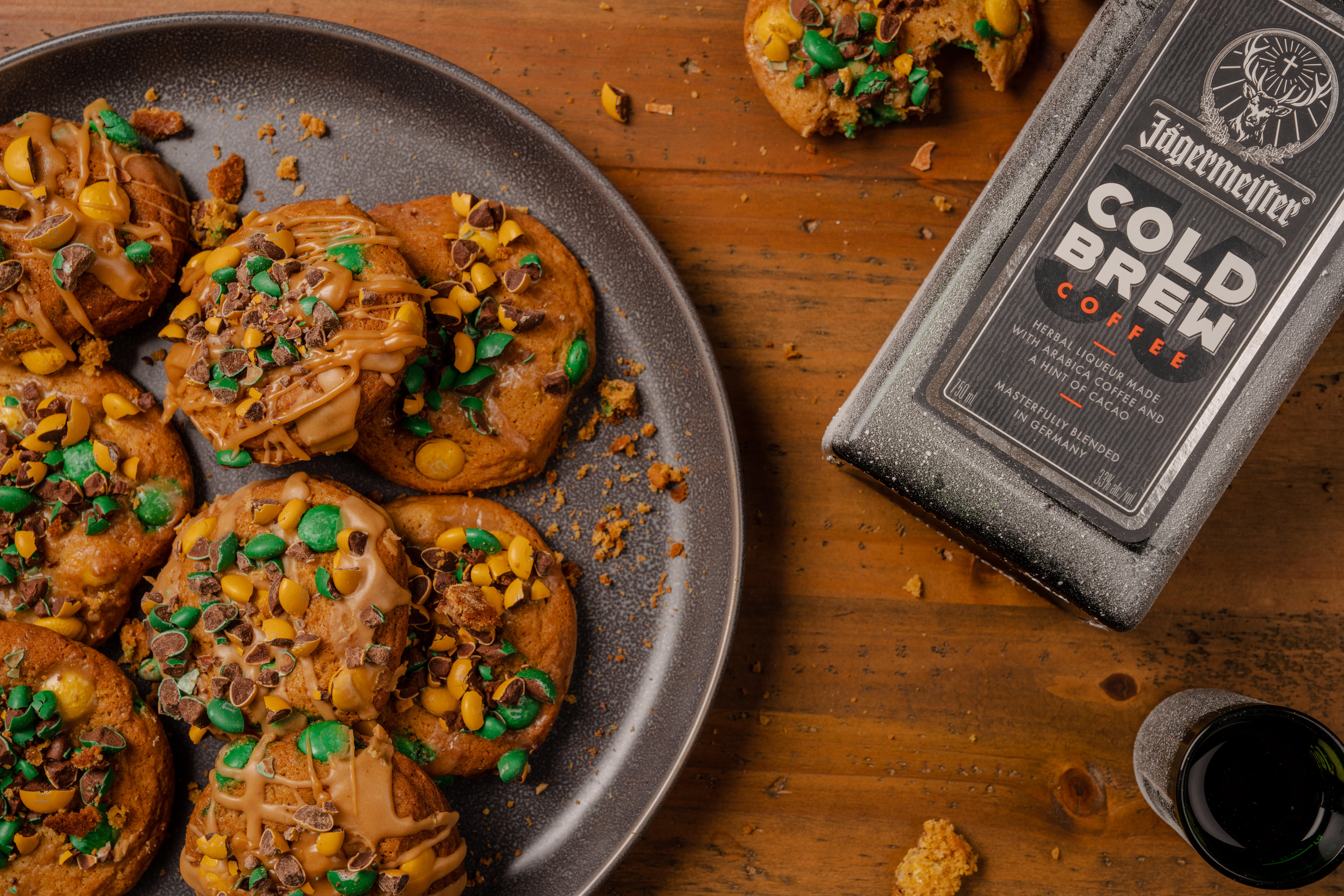Jagermeister Holiday Recipes Cookies and Brew
