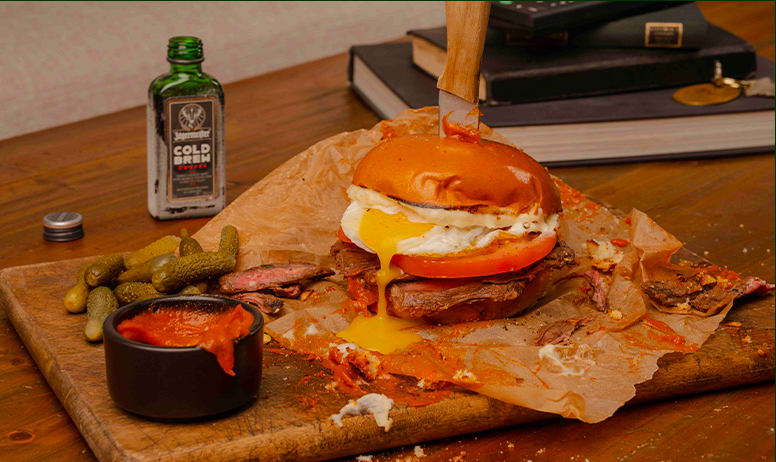 Jagermeister Holiday Recipes Sangwich