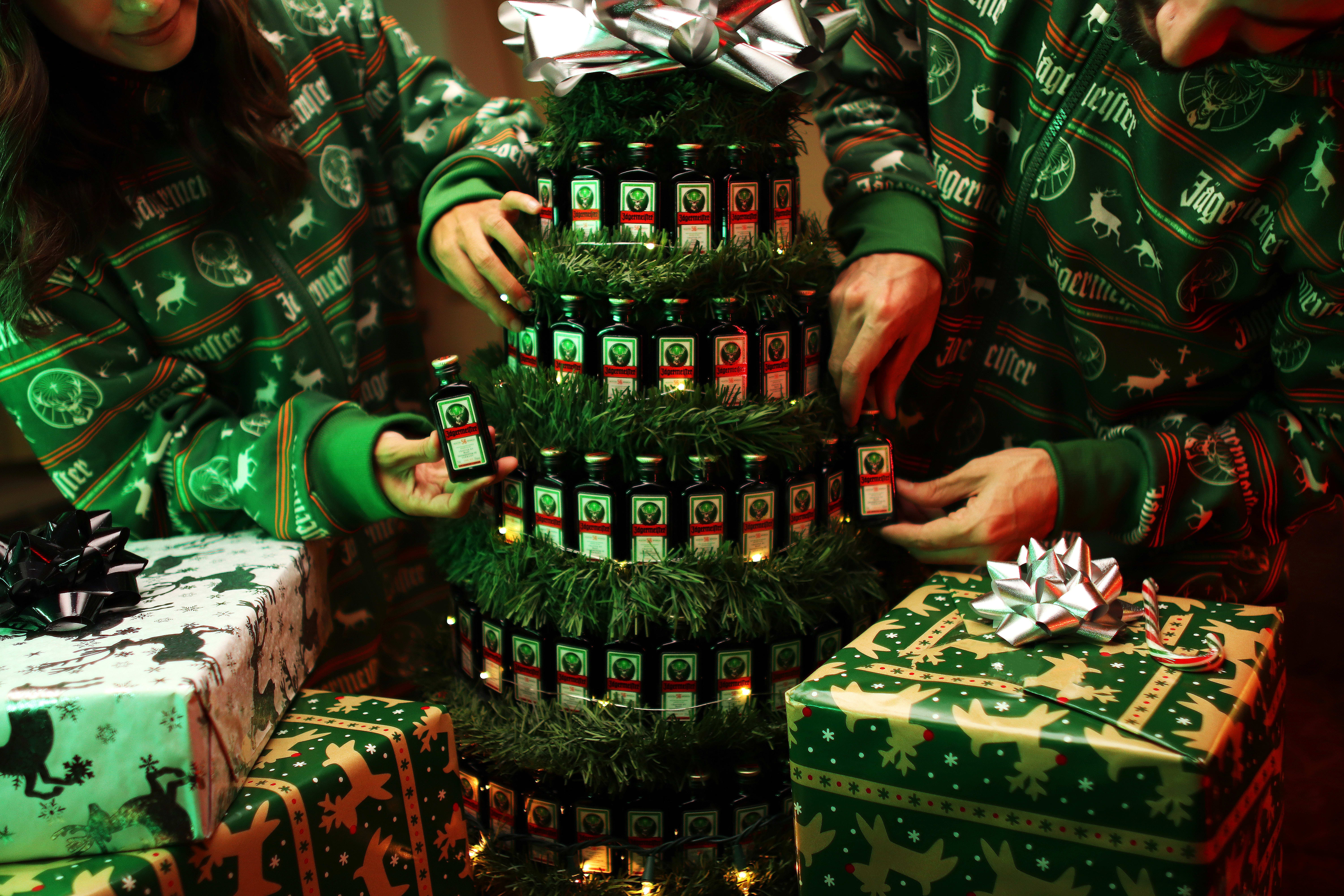 Jagermeister Holiday Recipes Tree